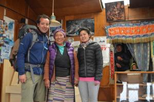 The famous Khumjung Bakery's proprietor and her daughter . . . the Bakery has been here since at least the 1990s and is a trekker's favorite