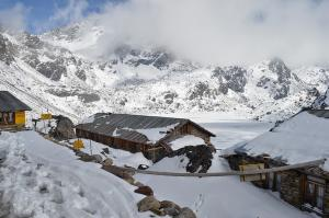 Gosaikunda Lakes and its collection of lodges