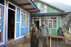 This good-looking Tamang couples runs the Buddha Guest House in Tatopani