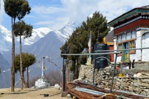Lawudo Gompa is getting ready for a major construction project
