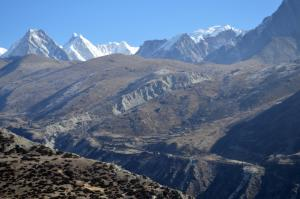 Somewhere in the Gokyo Valley