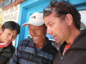 Enjoying some memories with friends in Bengkar