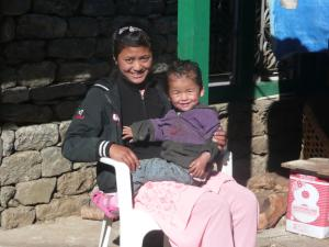 Sisters in Lukla