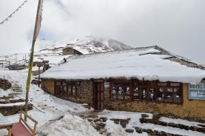 "The frigid ""village"" of Laurebina Yak is a welcoming sight . . . but only slightly"