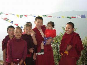 The nuns of Nagi Gompa
