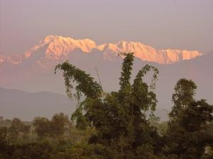 Think the Himalayas aren't steep?  The Annapurnas dominate the Pokhara Valley, astoundingly rising up more than four miles in a span of 22 miles